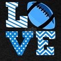 Love Foodball Blue T-Shirt