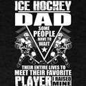 Ice Hockey Dad T Shirt, Hockey Player T Sh T-Shirt