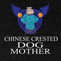 Chinese Crested Dog Mother T-Shirt
