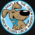 Paws for the Cure: Prostate Cancer Dark T-Shirt