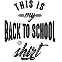 90.This is my back to school shirt T-Shirt