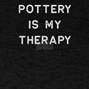 Pottery Design Is My Therapy Light Clay Ce T-Shirt