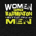 Women Badminton Player T-Shirt