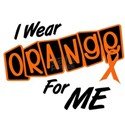 I Wear Orange For ME 8 White T-Shirt