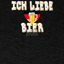 Ich Liebe Bier Fun German Oktoberfest Beer T-Shirt