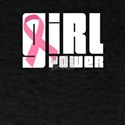 Girl Power Breast Cancer Awareness T-Shirt