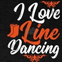 Line Dance Shirt I Love Line Dancing Gift T-Shirt