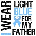 I Wear Light Blue Father Shirts & Gifts