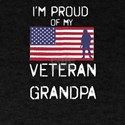 I'm Proud of My Veteran Grandpa Patrio T-Shirt