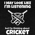 thinking about cricket T-Shirt