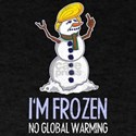Donald Trump Snowman Global Warming T-Shirt