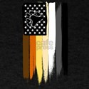 Gay Bear Painted Stars and Stripes T-Shirt