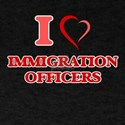 I love Immigration Officers T-Shirt