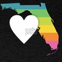 Florida - Heart Rainbow T-Shirt