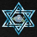 Peace Star Of David T-Shirt