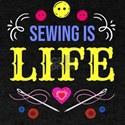 Sewing Machine Sew Needle Thread Yarn Quil T-Shirt