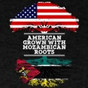 American Grown With Mozambican Roots T-Shirt