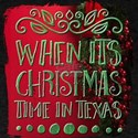 When Its Christmas Time In Texas T-Shirt