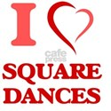 I Love SQUARE DANCES T-Shirt