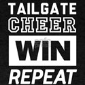Tailgate Cheer Win Repeat T-Shirt