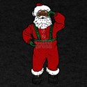 red velvet black santa T-Shirt