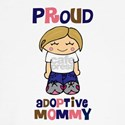 Proud Adoptive Mommy Baseball Jersey