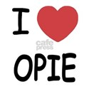 I heart opie White T-Shirt