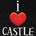 i love CASTLE.png T-Shirt