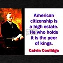 American Citizenship - Calvin Coolidge T-Shirt