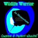 Wildlife Warrior Conserve & P Black T-Shirt