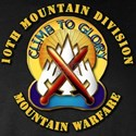 Emblem - 10th Mountain Division - DUI Long Sleeve