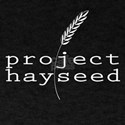 Project Hayseed Logo White T-Shirt