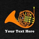 French Horn Personalized T-Shirt