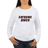 Extreme Diver Women's Long Sleeve T-Shirt