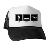 Eat Sleep Dive Trucker Hat
