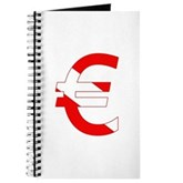 Scuba Flag Euro Sign Journal