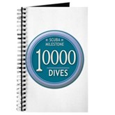 10000 Dives Milestone Journal
