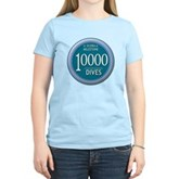 10000 Dives Milestone Women's Light T-Shirt
