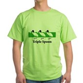 Triple Spoon Green T-Shirt