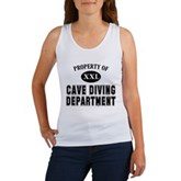 Cave Diving Department Women's Tank Top