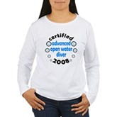 Certified AOW 2008 Women's Long Sleeve T-Shirt