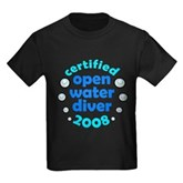 Open Water Diver 2008 Kids Dark T-Shirt
