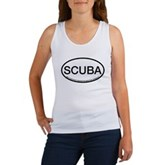Scuba Oval Women's Tank Top