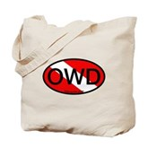 OWD Oval Dive Flag Tote Bag