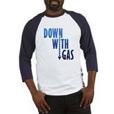 Down With Gas Baseball Jersey