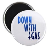 Down With Gas Magnet