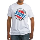 Vintage Key Largo 33037 Fitted T-Shirt