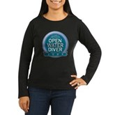 Open Water Diver 2009 Women's Long Sleeve Dark T-S