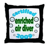 Nitrox Diver 2009 Throw Pillow