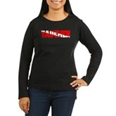 Tauchen German Scuba Flag Women's Long Sleeve Dark